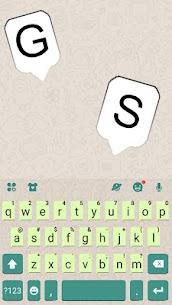 Messenger Chat Sms Keyboard Theme 5