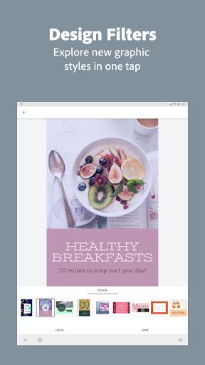 Adobe Spark Post: Graphic Design & Story Templates  screenshots 13