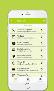 Shift Manager. Shift Schedule App. Shift Calendar