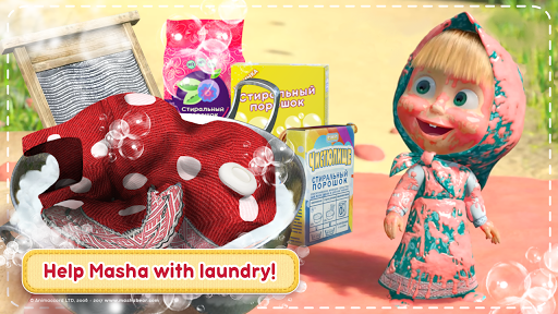 Masha and the Bear: House Cleaning Games for Girls 2.0.0 screenshots 1