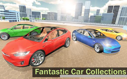 Electric Car Simulator 2021: City Driving Model X https screenshots 1