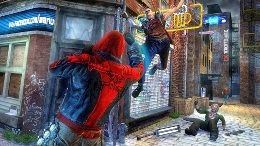 Incredible SuperHero Games : Crime City Gangster screenshots 2