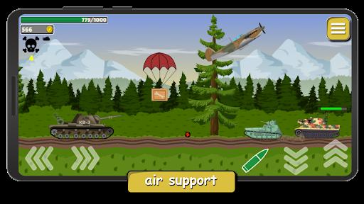 Tank Battle War 2d: game free apktram screenshots 4