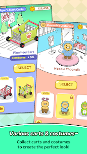 Friends Mart Rush Mod Apk 1.1.0 (All Skins and Carts Are Open) 8