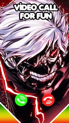 Tokyo Ghoul Video Call & Wallpaperのおすすめ画像1