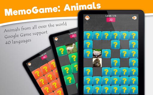 Memory Game: Animals  screenshots 8