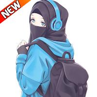 Hijab Cute Cartoon Muslimah Wallpapers