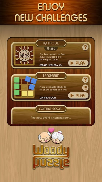 Woody Block Puzzle ® Android App Screenshot