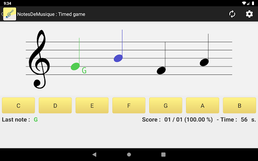 NotesDeMusique (Learning to read musical notation) goodtube screenshots 6