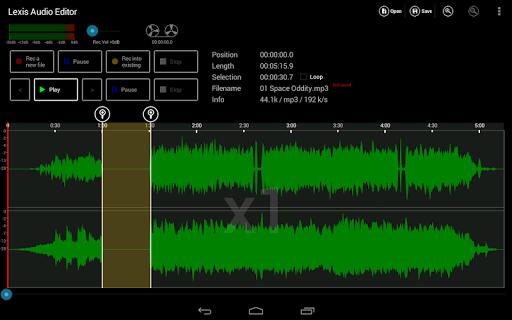 Lexis Audio Editor 1.1.105 Screenshots 9