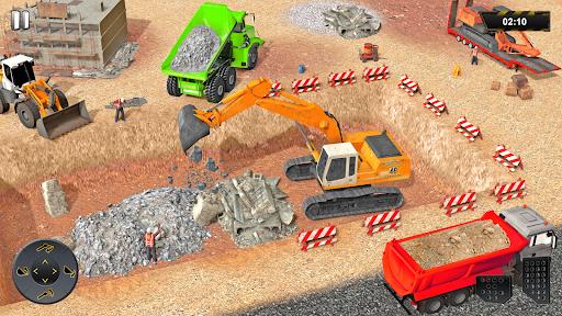 Heavy Excavator Crane Sim Game 2.2 screenshots 12
