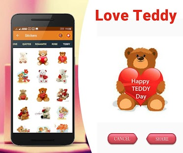 Love chat stickers: Valentine Special LoveStickers Screenshot
