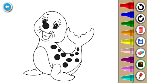 Kids Coloring Book : Cute Animals Coloring Pages 1.0.1.4 screenshots 5