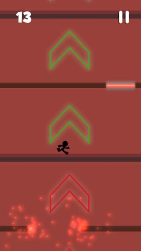 Stickman Jumper Blast  screenshots 3