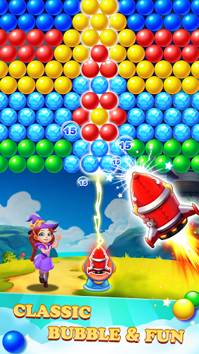 Bubble Tower Legend - Bubble Shooter Magic Pop Apkfinish screenshots 6