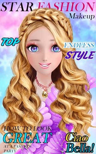 Super fashion model- Makeup & Dress up game 1.1.4 screenshots 12