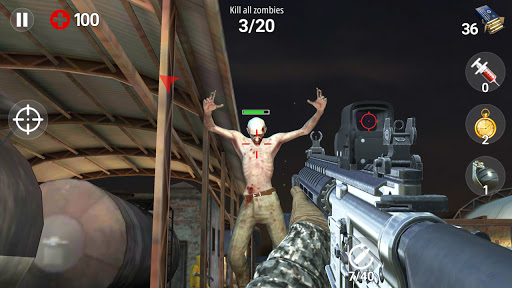 Dead Fire: Zombie shooting apktram screenshots 4