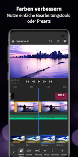 Adobe Premiere Rush — Video Bearbeiten Screenshot