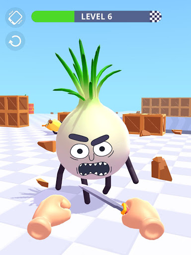 Hit Tomato 3D: Knife Throwing Master screenshots 17