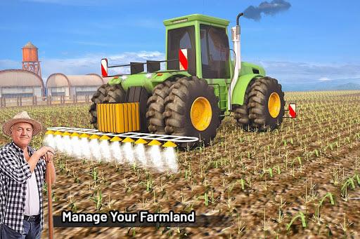 Modern Farming Simulation: Tractor & Drone Farming screenshots 9