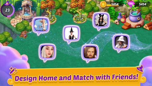 Merge Witches - merge&match to discover calm life Apkfinish screenshots 5