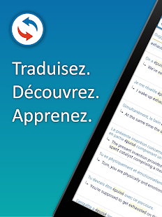 Reverso Traduction, Dictionnaire Capture d'écran