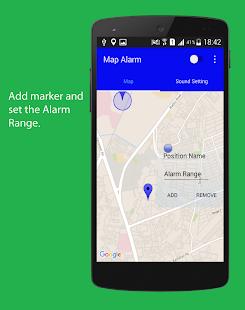 Map Alarm - Location Based Alarm