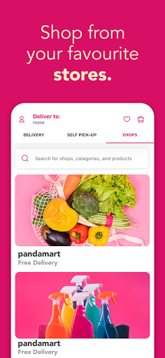 foodpanda - Local Food & Grocery Delivery  screenshots 2
