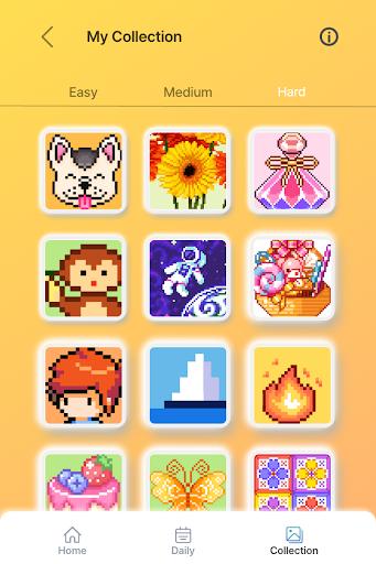 Happy Pixel Puzzle: Free Fun Coloring Logic Game filehippodl screenshot 21
