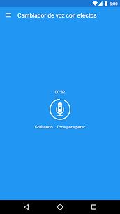 Cambiador de voz con efectos 1