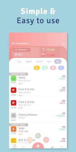 Money Diary - Expense Tracker apktram screenshots 7