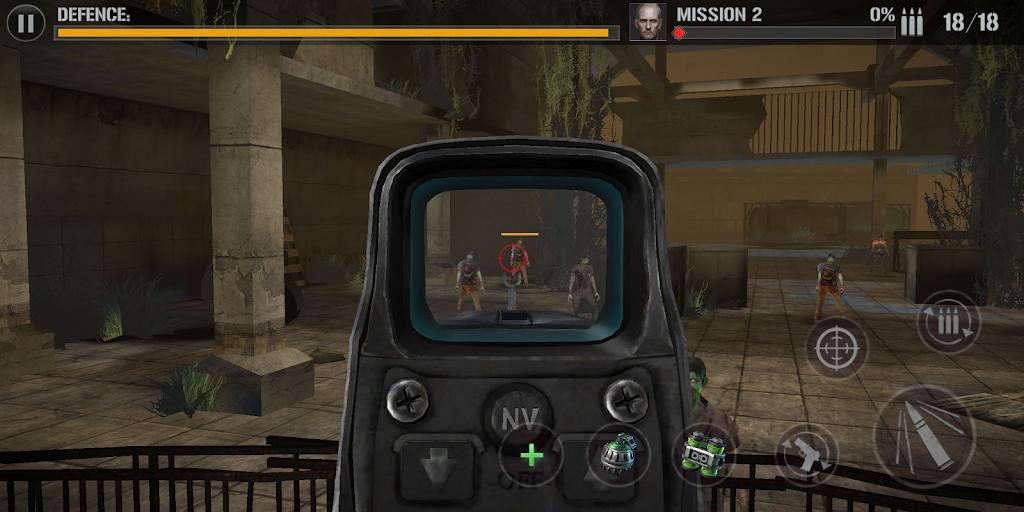 zombie comando shooting:offline fps military-games  poster 15