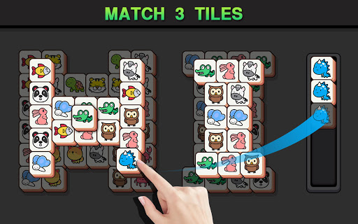 Match Animal-u00a0Free Tile master&Match Brain Game apkslow screenshots 18