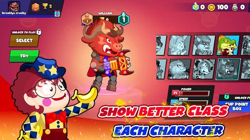 ud83dudd2b Bullet Warriors: 3vs3 MOBA Brawl of Kings 4.0.4 screenshots 7