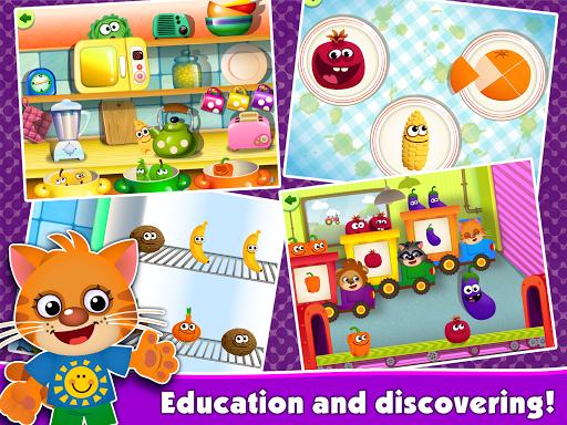 FunnyFood Kindergarten learning games for toddlers 2.4.1.19 Screenshots 11