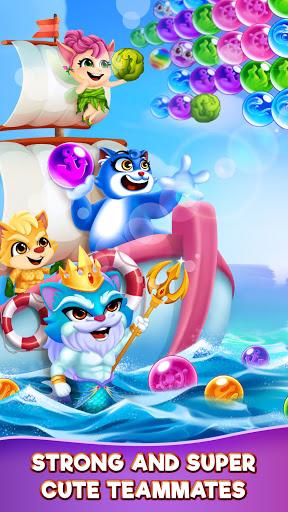Cat Pop Island: Bubble Shooter Adventure 8.5 screenshots 4