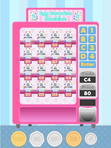 surprise eggs vending machine screenshot 2
