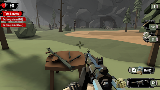 The Walking Zombie 2: Zombie shooter apkpoly screenshots 12
