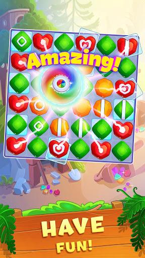 Crystal Crunch: New Match 3 Puzzle | Swap Gems 1.7.1 screenshots 2
