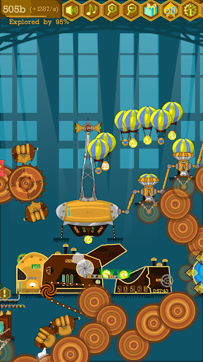 Steampunk Idle Spinner: Coin Factory Machines 1.9.3 screenshots 8