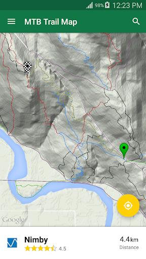mtb trail map screenshot 3