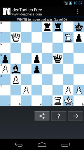 Chess tactics puzzles | IdeaTactics screenshots 1