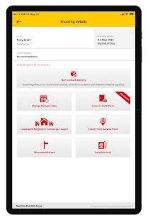DHL Express Mobile 2.6.0 Screenshots 9
