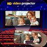 HD Video Projector Simulator, Flash player app apk icon