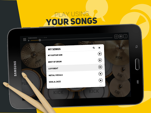 SUPER DRUM - Play Drum! android2mod screenshots 9