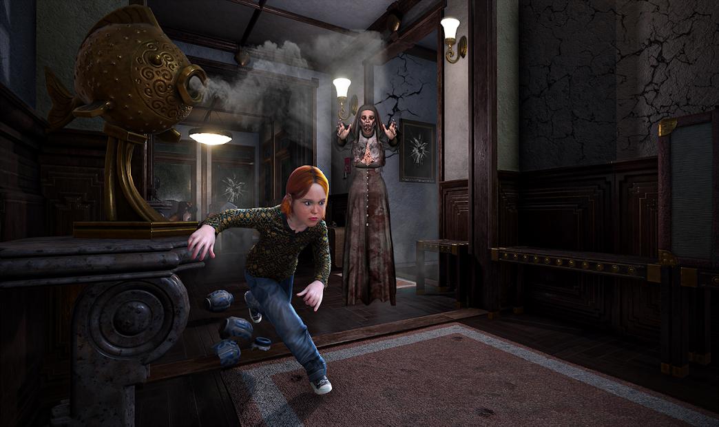 Scary Granny Teacher : Horror Grandma House Escape screenshot 1