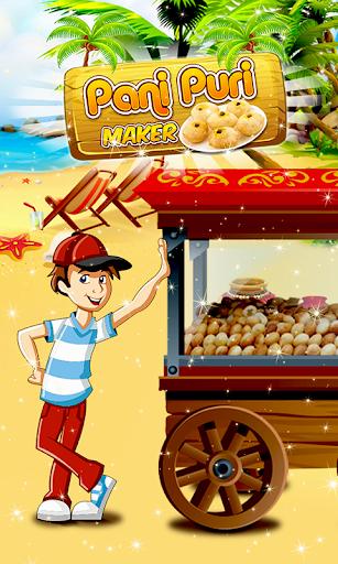 Panipuri Maker Indian Cooking Game apklade screenshots 1