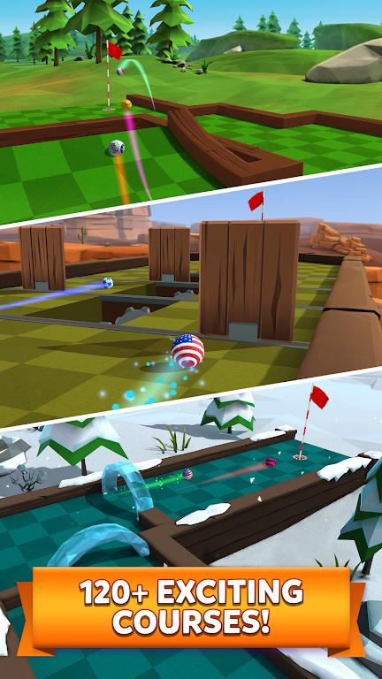 Golf Battle poster 4