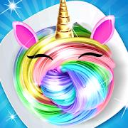 Unicorn Rainbow DIY slime maker