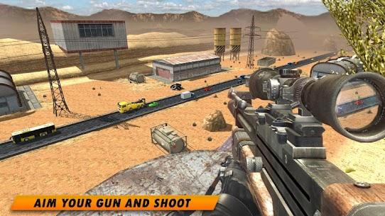 How do I download 3D Sniper Shooter  app on PC? 1